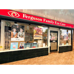 HALF PRICE Sight Test and £10 OFF Glasses at Ferguson Family Eyecare Walsall
