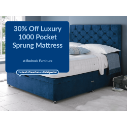 30% Off Luxury 1000 Pocket Sprung Mattress