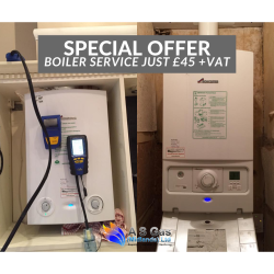 Boiler Services just £45+VAT at A S Gas (Midlands) Ltd