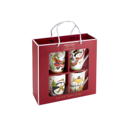 4 set Christmas Mugs - Arthur Price Factory Shop